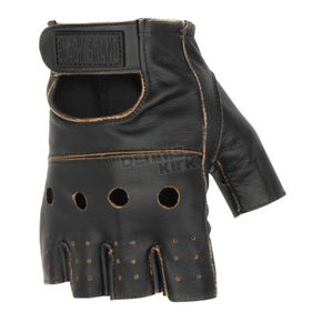 Black Brand Vintage Knuckle Shorty Gloves - BB7017