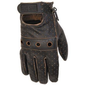 Black Brand Vintage Knuckle Gloves - BB7052