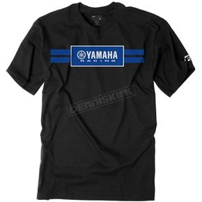 Factory Effex Black Yamaha Racing Stripes T-Shirt - 19-87206