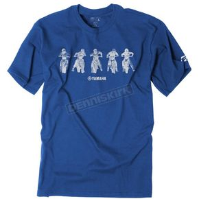 Factory Effex Youth Royal Blue Yamaha Lineup T-Shirt - 19-83216