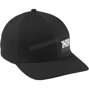 Thor Black/White Aktiv Flex Fit Hat - 2501-2525