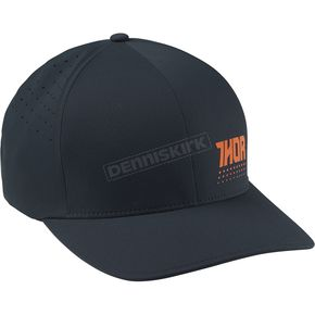 Thor Navy/Orange Aktiv Flex Fit Hat - 2501-2526