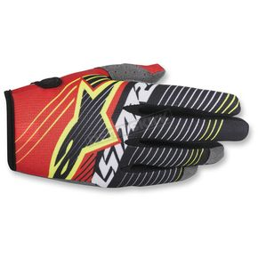 Alpinestars Red/White/BlackRadar Tracker Gloves - 3561917-321-MD