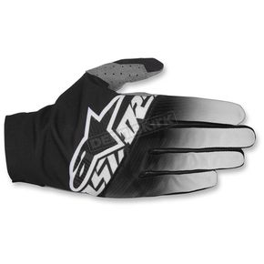 Alpinestars Black/Light Gray/White Dune-2 Gloves - 3562617-1093-LG