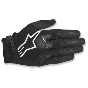 Alpinestars Black/White Racefend Gloves - 3563517-12-2
