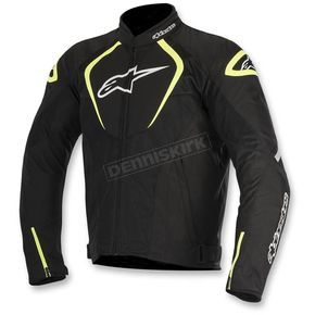 Alpinestars Black/White/Flo Yellow T-Jaws Air Jacket - 3301517-155-2X