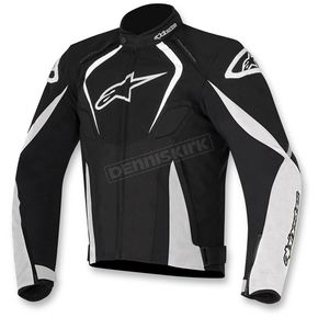 Alpinestars Black/White T-Jaws Waterproof Jacket - 3201017-12-3X
