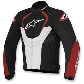 Alpinestars Black/White/Red  T-Jaws Waterproof Jacket - 3201017-123-S