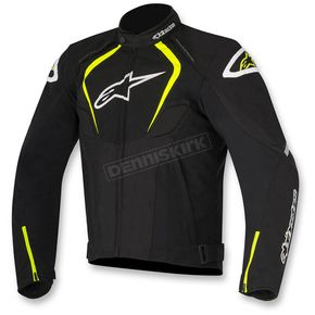 Alpinestars Black/White/Flo Yellow T-Jaws Waterproof Jacket - 3201017-125-M