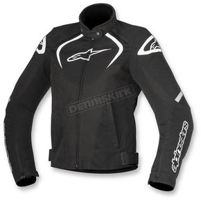 Alpinestars Black/White Womens Stella T-Jaw Waterproof Jacket - 3211017-12-2X