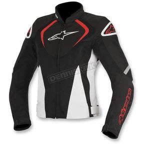 Alpinestars Black/White/Red Womens Stella T-Jaw Air Jacket - 3311517-123-S
