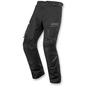 Alpinestars Black/Gray Valparaiso 2 Drystar Pants - 3224016-131-XL