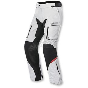 Alpinestars Gray/Black/Red Valparaiso 2 Drystar Pants - 3224016-9213-3X