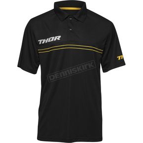 Thor Gray Mech Pit Polo Shirt - 3040-2163