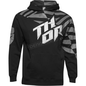 Thor Youth Black/Gray Dazz Pullover Hoody - 3052-0376