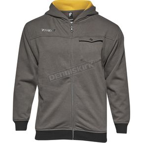 Thor Youth Gray Mech Zip Up Hoody - 3052-0383