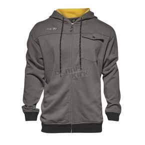 Thor Gray Mech Zip Up Hoody - 3050-3681