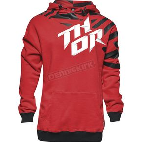 Thor Red/Black Dazz Pullover Hoody - 3050-3692