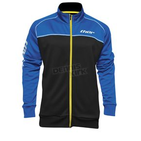 Thor Blue/Black Blocker Track Jacket - 2920-0484