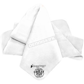 Frogg Toggs White Chilly Pad Cooling Towel - CP100-03