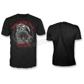 Lethal Threat Black Speed Never Kills T-Shirt  - HT20403L