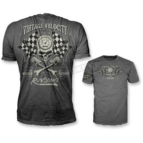 Gray Wicked Pistons T-Shirt  - VV40111M