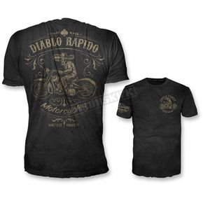 Lethal Threat Black Diablo Rapido T-Shirt  - VV40116XL