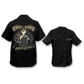 Lethal Threat Ride Hard Ride Free Work Shirt  - HW50179XXXL