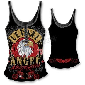 Lethal Threat Womens Fast N Free Eagle Tank Top - LT20328M