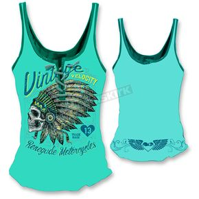 Lethal Threat Womens Renegade Motorcycle Tank Top  - LT20351S