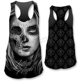 Lethal Threat Womens Half Dod Tank Top - LT20375XXL