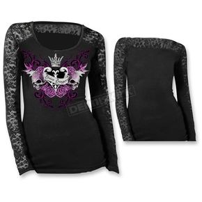 Lethal Threat Womens Divine Danger Long Sleeve Shirt  - LT20330XXL