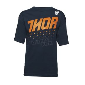 Thor Youth Navy Aktiv T-Shirt  - 3032-2435