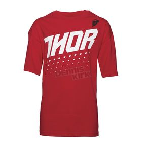 Thor Youth Red Aktiv T-Shirt  - 3032-2441