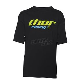 Thor Youth Black Pinin T-Shirt - 3032-2451