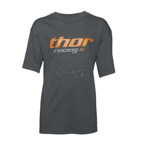 Thor Youth Charcoal Pinin T-Shirt  - 3032-2459