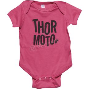Thor Hot Pink/Black Infant Crush SuperMini T-Shirt - 3032-2527