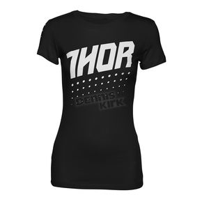 Thor Womens Black Aktiv T-Shirt - 3031-2991