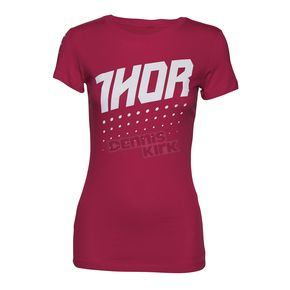 Thor Hot Pink Womens Aktiv T-Shirt - 3031-2997