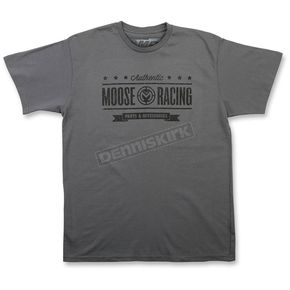 Moose Gray Authenticity T-Shirt - 3030-14573
