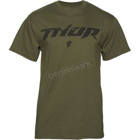 Thor Olive Roost T-Shirt  - 3030-14645
