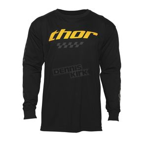 Thor Black Long Sleeve Charger Shirt  - 3030-14680