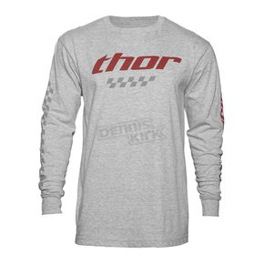Thor Gray Long Sleeve Charger Shirt  - 3030-14688