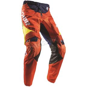 Thor Navy/Red/Orange Fuse Propel Pants - 2901-6301