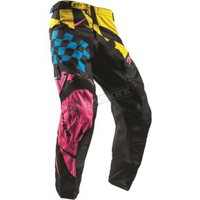 Thor Yellow/Pink Pulse Louda Pants - 2901-6334