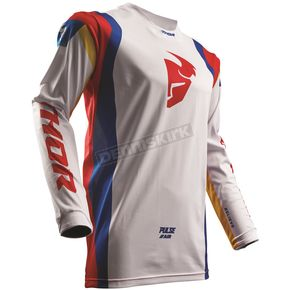 Thor White/Multi Pulse Air Profile Jersey - 2910-4276