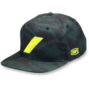 100% Slash Camo Twill Snap Back Hat - 20049-064-01
