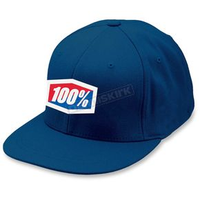 100% Blue Essential Flex Fit Hat - 20040-015-18