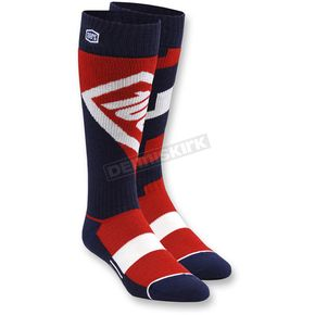 100% Red Torque MX Socks - 24007-003-17