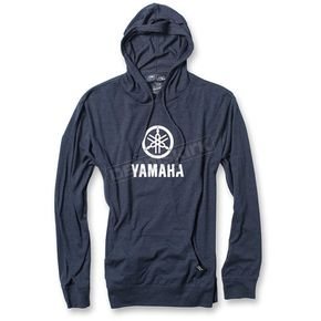 Factory Effex Navy Yamaha Stacked Lightweight Pullover Hoody - 20-88212
